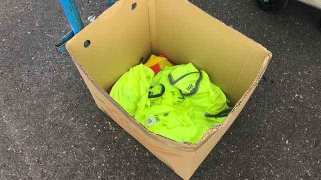 Camisetas amarillas retiradas en la final de Copa.