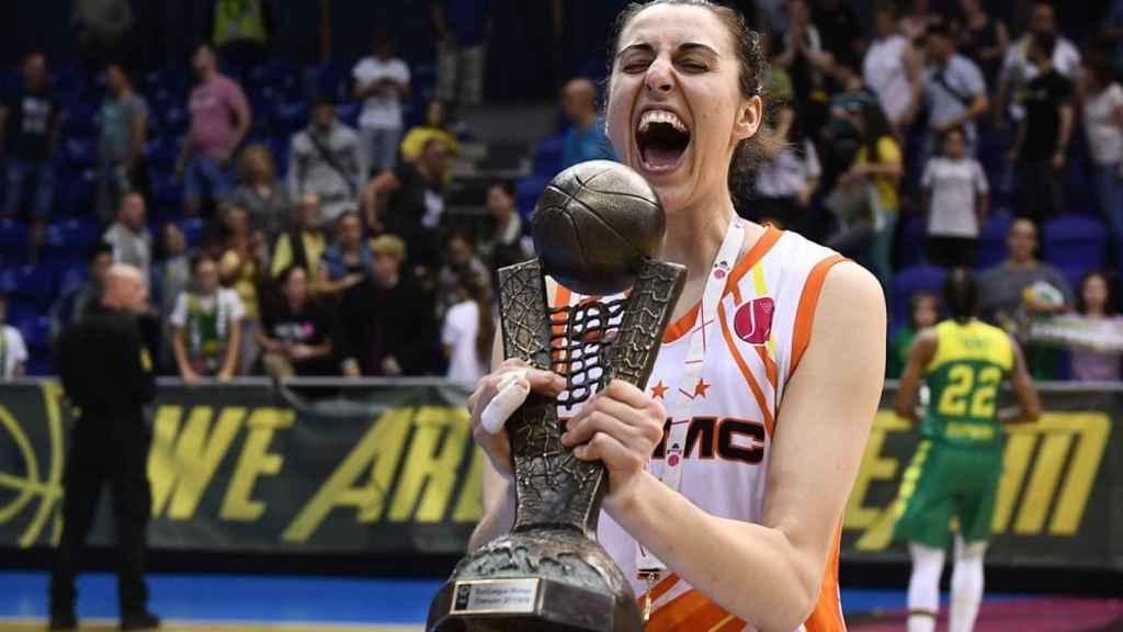 Alba Torrens ha ganado su cuarta Euroliga femenina.