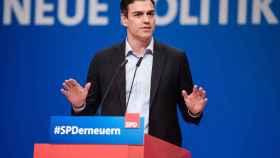 Sánchez denuncia en Alemania el 'procés' como un problema propio de los populismos europeos