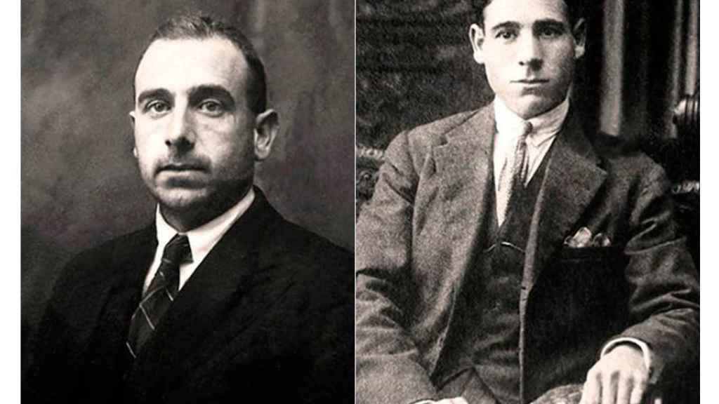 Los hermanos Manuel y Antonio-Ramiro Lapeña, en archivo familiar.