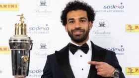 Salah, mejor jugador del año para los futbolistas ingleses. Foto: Twitter (@PFA)