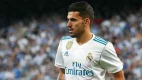 Ceballos con el Real Madrid