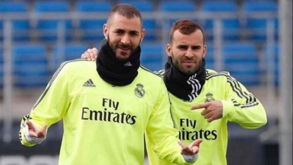 Jesé y Benzema. Foto: Instagram (@jeserodriguez10)