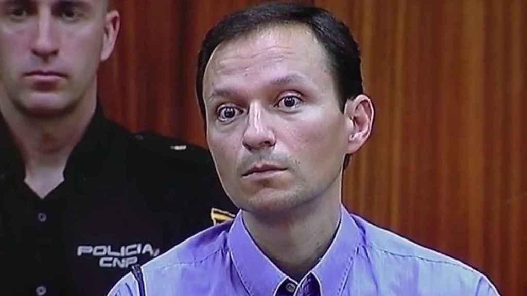 El asesino José Bretón mientras escuchaba en julio de 2013 su condena