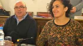 Salvador Arpa Esther Minguez toma la palabra arzobispado diputacion valladolid