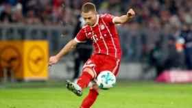 Joshua Kimmich con el Bayern Múnich. Foto: Twitter (@FCBayernEN)
