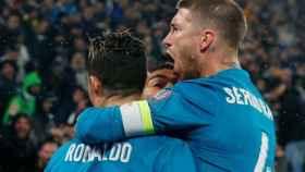 Ramos felicita a Cristiano por su gol a la Juventus