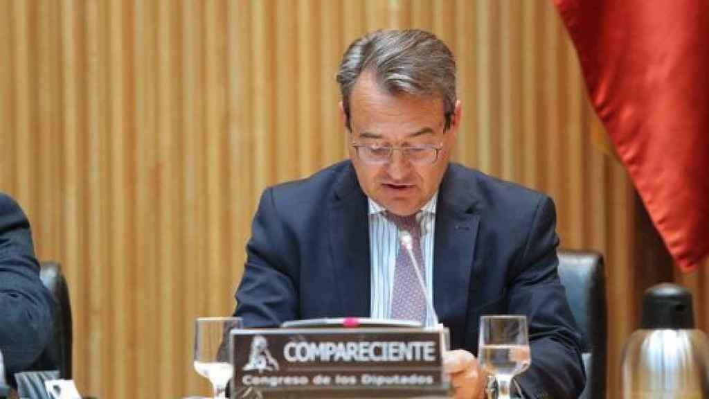 Agustín Conde, en el Congreso.