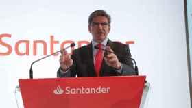 José Antonio Álvarez, CEO del Banco Santander en una imagen de archivo.