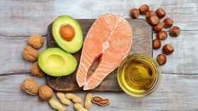 Algunos alimentos saludables.