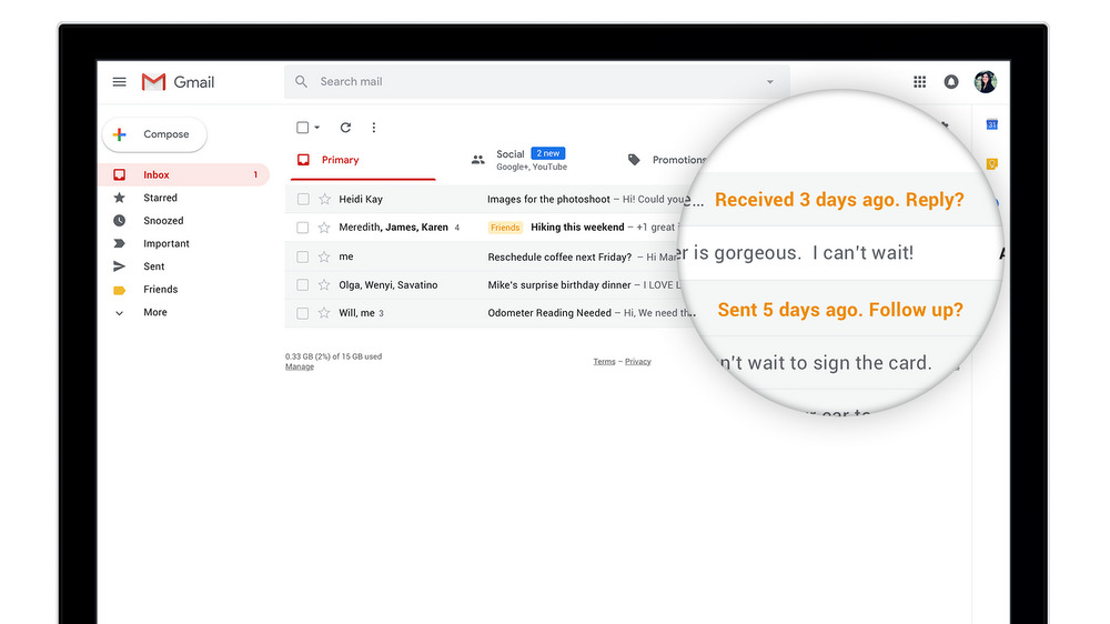 gmail recordatorios citas rapidas