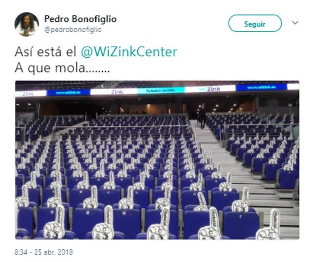 Tuit de Pedro Bonofiglio