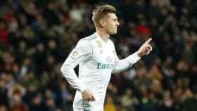 Kroos, tras marcar a la Real Sociedad