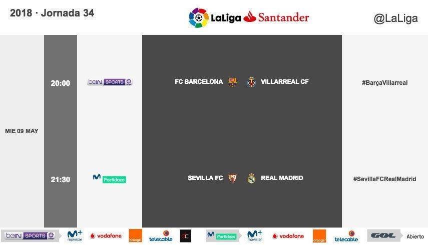 Ya se conoce el horario del Sevilla - Real Madrid aplazado
