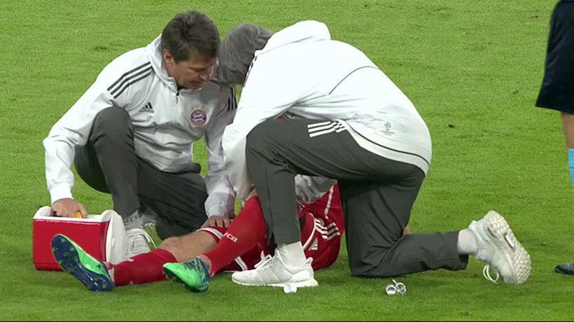 Problemas para el Bayern: Robben y Boateng, lesionados