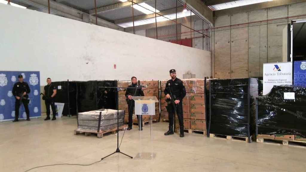 Decomisado en Algeciras el mayor alijo de cocaína de Europa en un contenedor