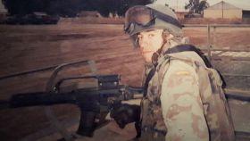 El soldado Jorge Trejo.