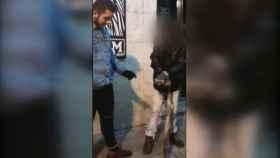 Captura de pantalla del vídeo de la agresión.