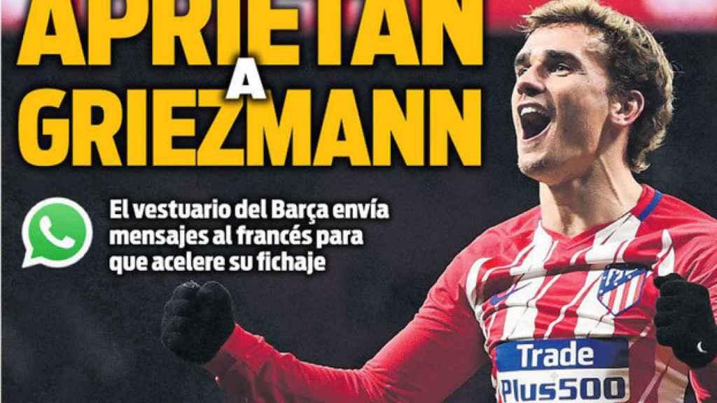 Portada Sport (26/04/18)