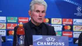 Heynckes, en rueda de prensa tras el partido con el Madrid