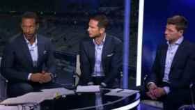 Rio Ferdinand, Frank Lampard y Steven Gerrard
