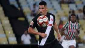 Paulinho, en un partido con el Vasco da Gama. Foto: vasco.com.br