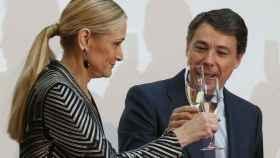 Los expresidentes madrileños Cristina Cifuentes e Ignacio González