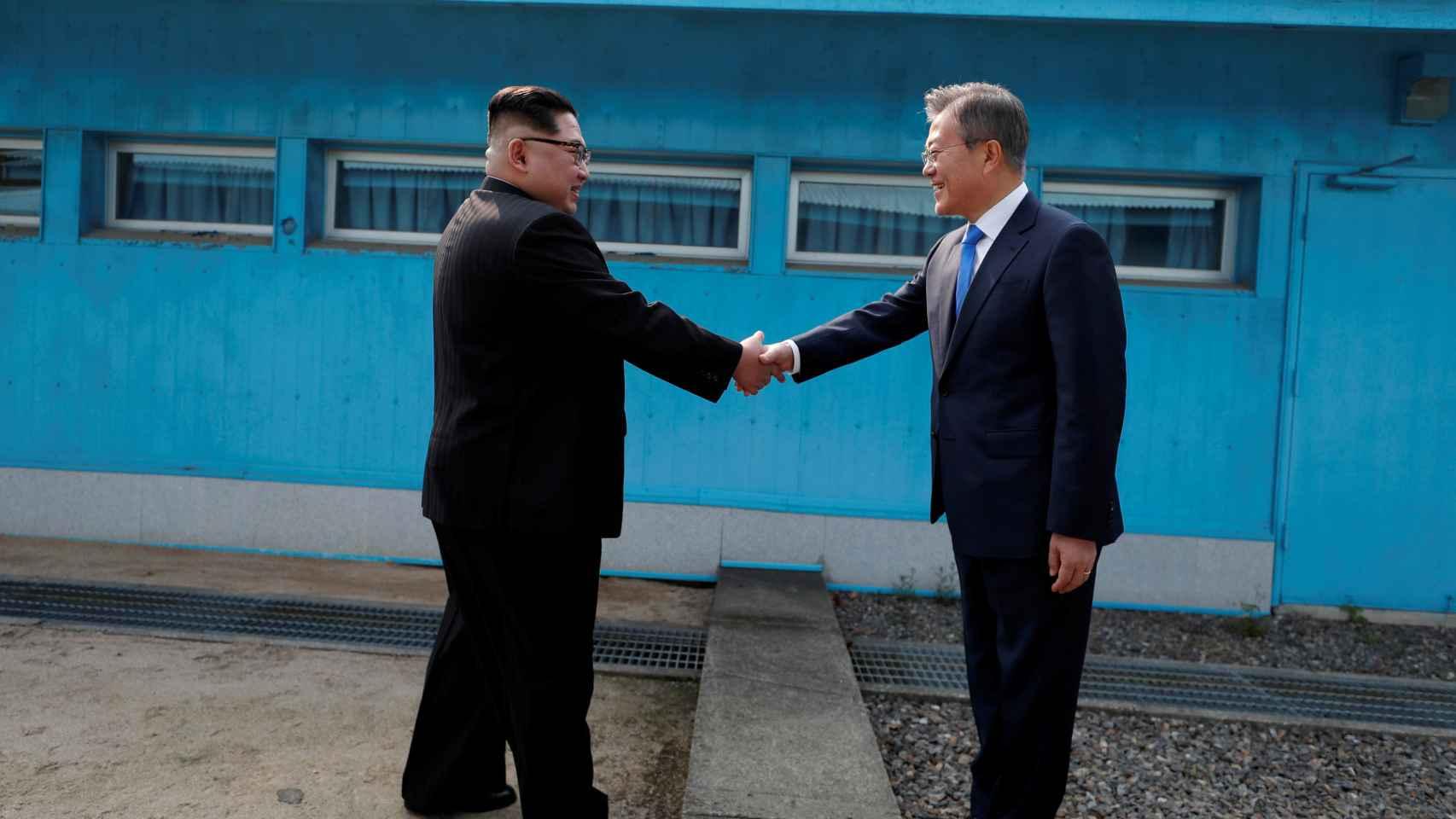 El encuentro histórico entre las dos Coreas, en imágenes