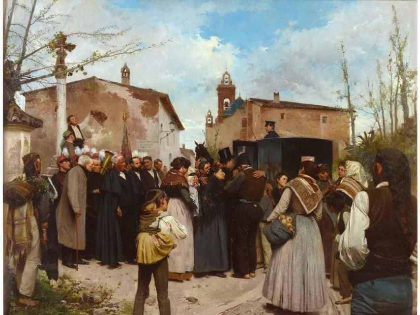 La gloria del pueblo, 1895.
