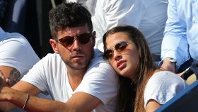 Pablo López y Claudia Nieto se mostraron muy cómplices.