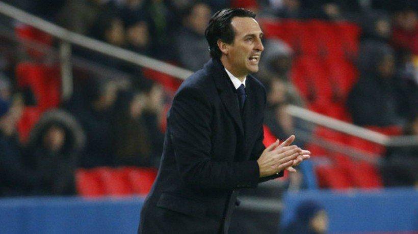 Emery, con el PSG. Foto. psg.fr