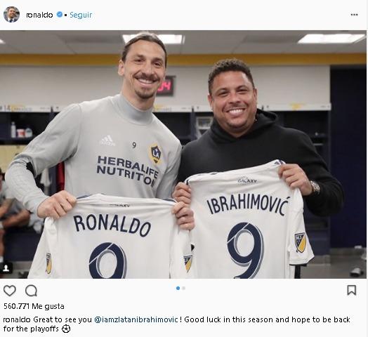 Ronaldo e Ibrahimovicj