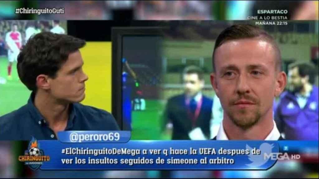 Edu Aguirre. Foto: Twitter (@elchiringuitotv)