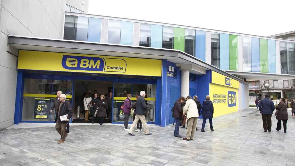 Un supermercado BM en Irún.