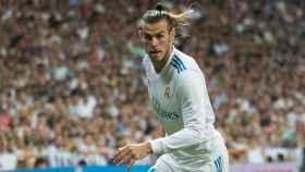 Gareth Bale, en el Santiago Bernabéu. Foto: Pedro Rodríguez/El Bernabéu