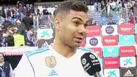 Casemiro habla tras el partido
