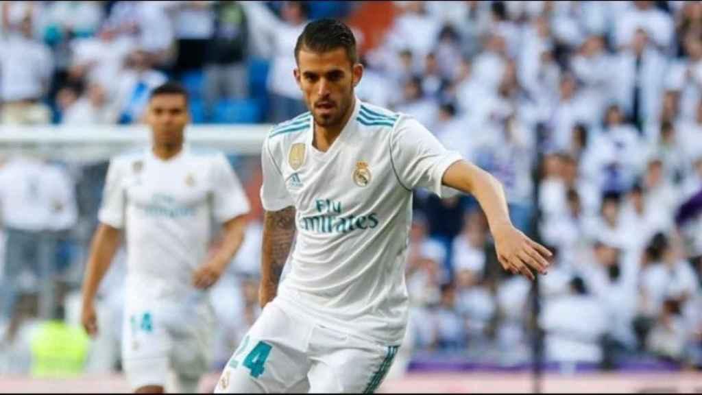 Ceballos, en el Real Madrid - Leganés
