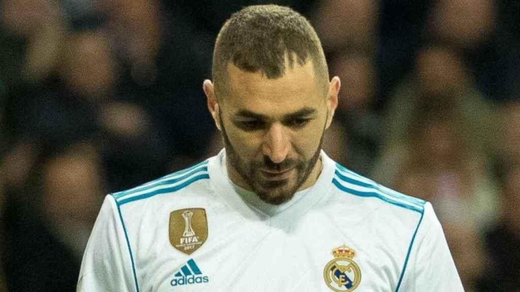 Karim Benzema. Foto: Pedro Rodríguez/El Bernabéu