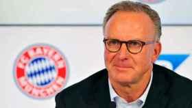 Rummenigge, director general del Bayern. Foto. fcbayern.com