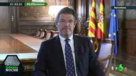 Rafael Catalá durante su intervención en laSexta