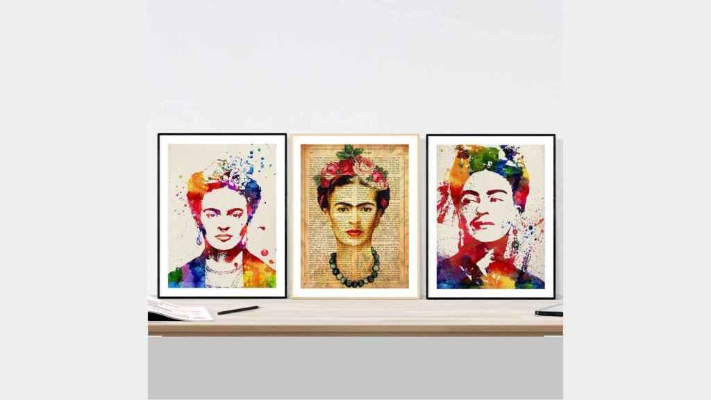 Retratos de Frida Kahlo.