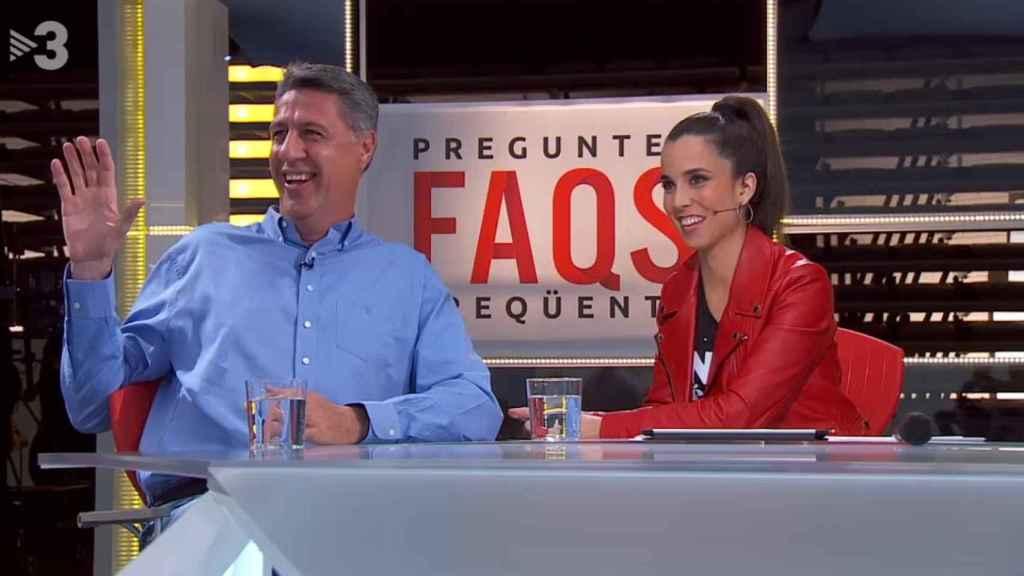 Albiol durante un momento de la entrevista en TV3 de este sábado.