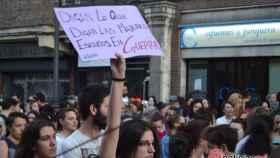 concentracion manifestacion valladolid manada feminista 23