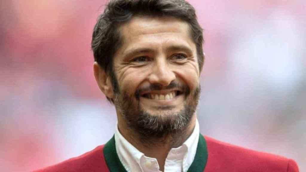 Lizarazu, leyenda del Bayern Múnich. Foto fcbayern.com