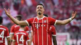 Sandro Wagner, delantero del Bayern Múnich. Foto: fcbayern.com