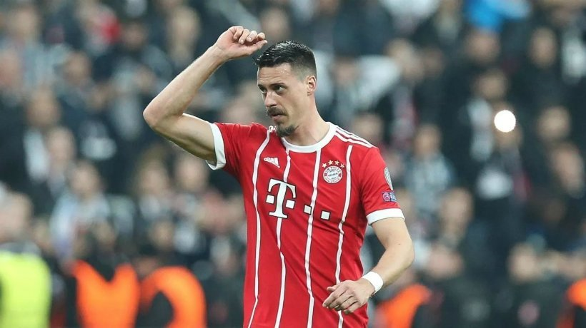 Sandro Wagner, delantero del Bayern Múnich, celebrando un gol. Foto: fcbayern.com