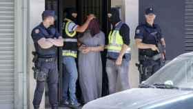 Detención de Abdallah Lachiri en Valencia, junio de 2016.