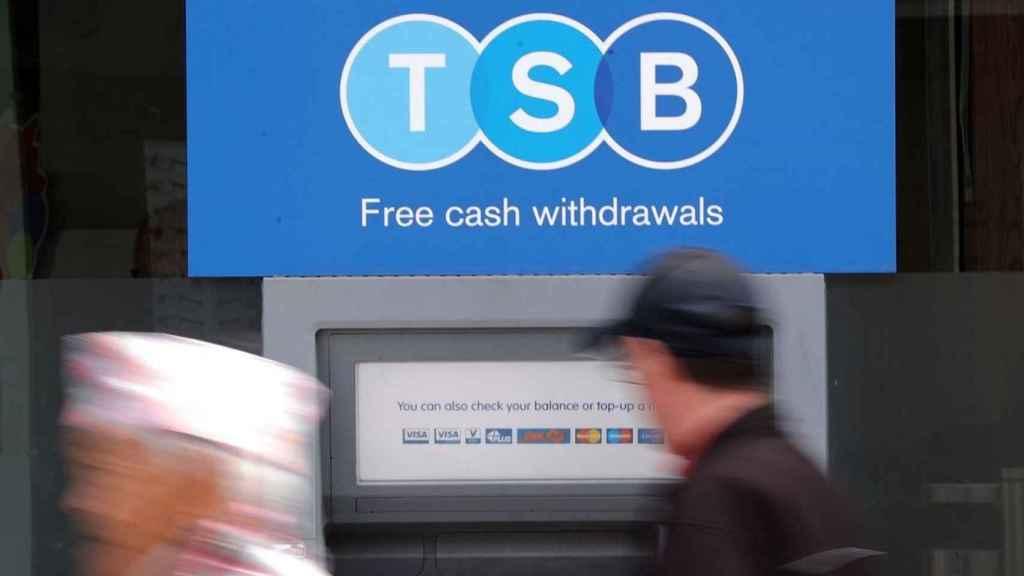 Logotipo de TSB, la filial británica del Sabadell.
