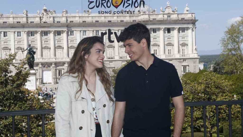 Amaia y Alfred en su última entrevista previa a Eurovisión