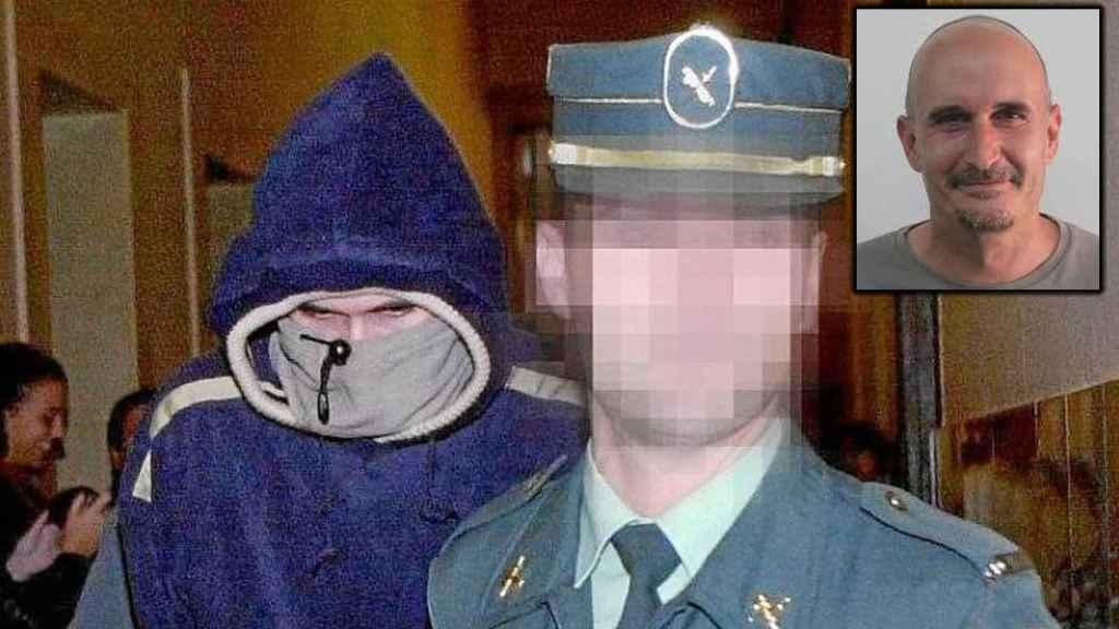 Gregorio Cano, el violador de La Verneda, cuando fue detenido hace 20 años
